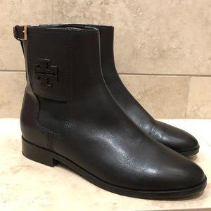 Tory Burch Wyatt Chelsea Ankle Boot Black 7